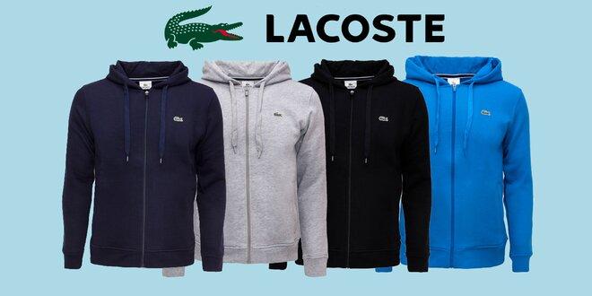 Pohodlné pánské mikiny s kapucňou Lacoste