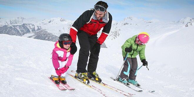 Lyžiarska škola s možnosťou zapožičania výstroja