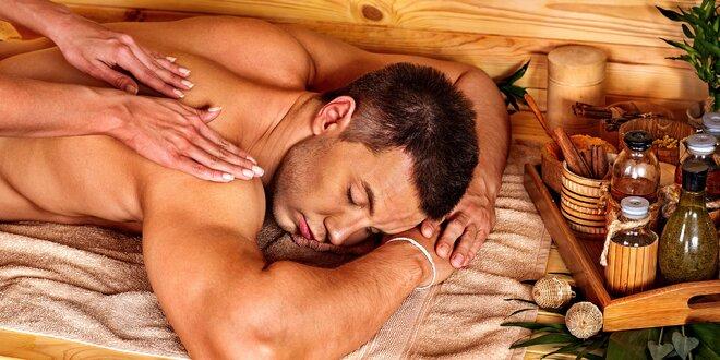 Celotelová relaxačná masáž s prvkami tantry
