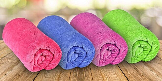 Deky z mikrovlákna v mnohých farbách vhodné aj pre alergikov