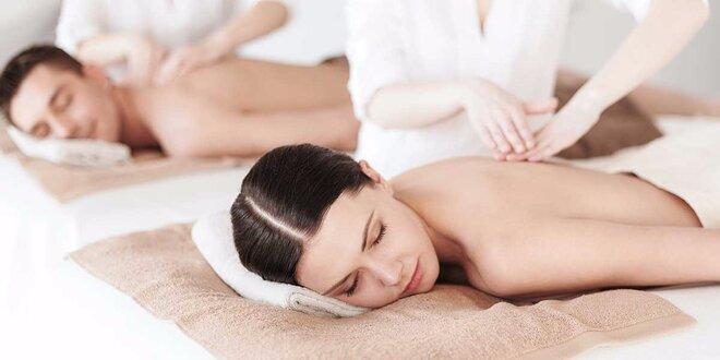 Klasická alebo reflexná masáž pre páry v Starom meste