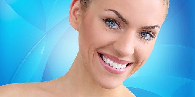 Dentálna hygiena či bielenie zubov s viac ako polovičnou zľavou!