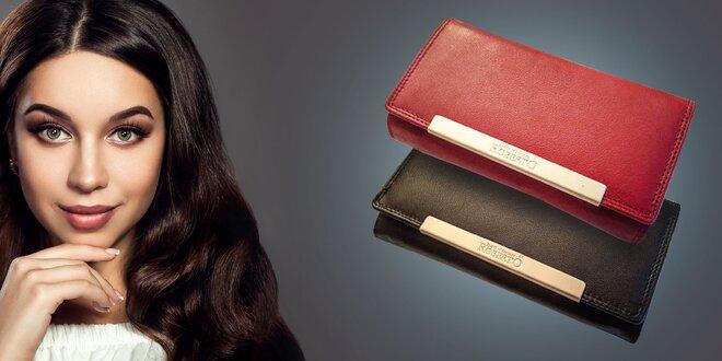 Luxusné dámske peňaženky