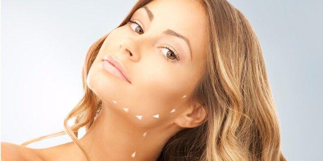Rádiofrekvencia tváre, krku a dekoltu alebo mikrodermabrázia s upokojujúcou…