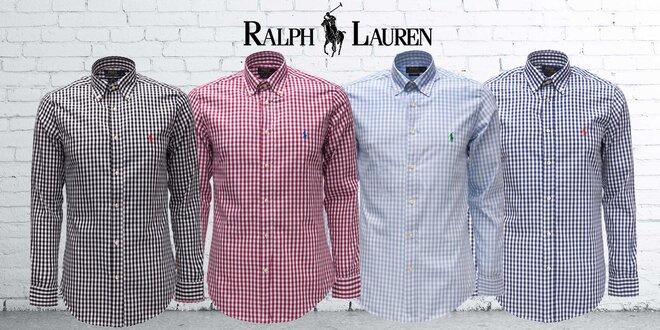 Pánske bavlnené kockované košele od Ralpha Laurena