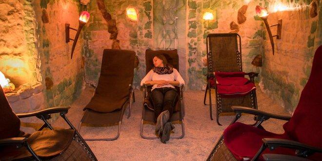 Relax v soľnej jaskyni - ideálny na posilnenie imunity a proti prechladnutiu!