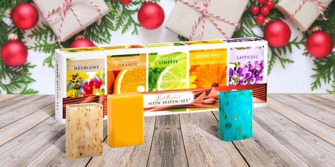 Darčekové balenie luxusných mydiel vlastnej výroby