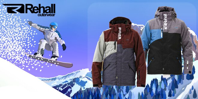 Športové oblečenie značky REHALL pre pánov