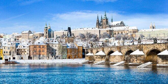 Zimný pobyt pre 2 osoby aj s raňajkami v Hoteli Barceló Praha****
