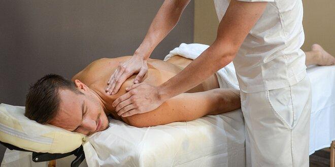 Víkendová klasická, reflexná alebo športová masáž