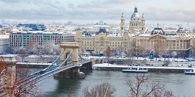 Kúzelná Budapešť - hotel s wellness a raňajkami