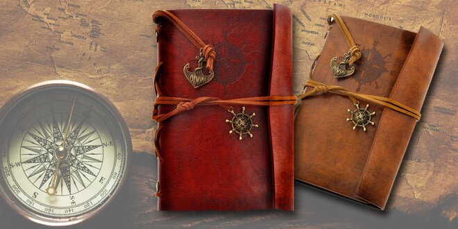Krásne zápisníky - na výber z dvoch dizajnov