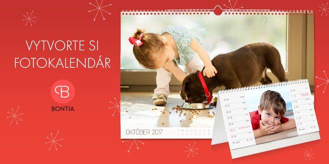Najmilšie darčeky - vytvorte fotokalendáre z vašich fotiek