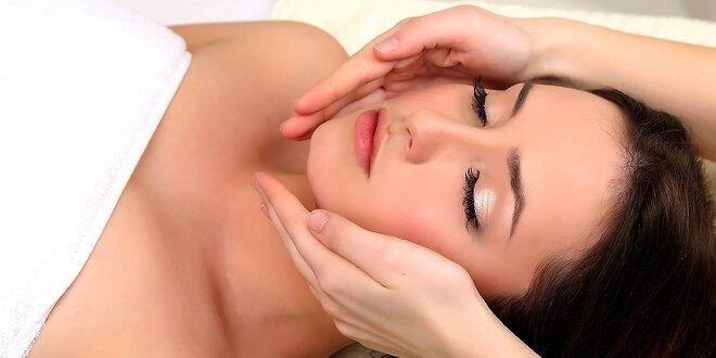 Masáž tváre, krku a dekoltu či diamantová mikrodermabrázia