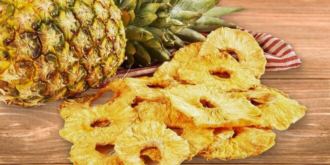Sušený ananás bez pridaného cukru