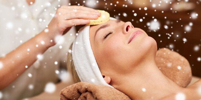 Manuálne hĺbkové čistenie pleti s možnosťou masáže tváre