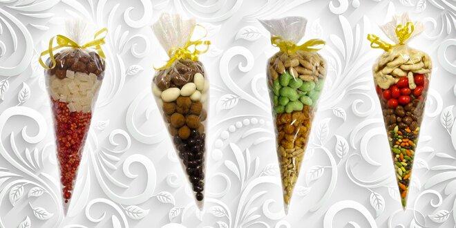 Sladko-zdravé balíčky plné sušeného ovocia a orieškov