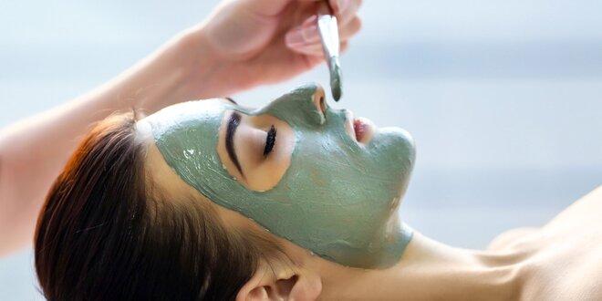 Luxusné kozmetické ošetrenie aknóznej pleti, hydratačné ošetrenie alebo…