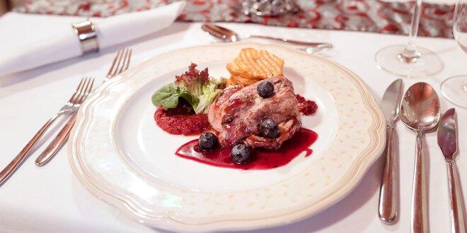 3-chodové degustačné menu v reštaurácii La Gondola
