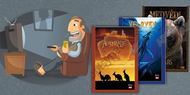 Sada filmov na DVD IMAX - Príbehy planéty Zem - 25 filmov