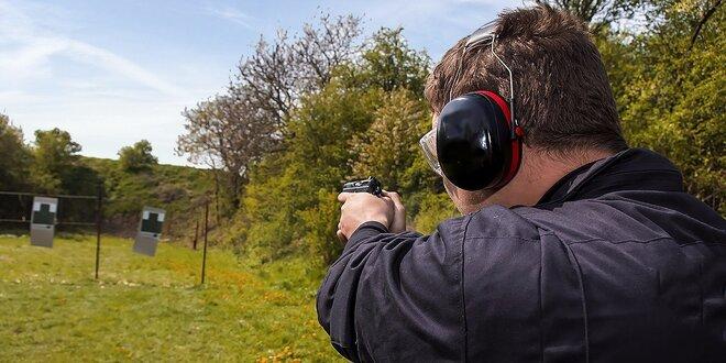 Streľba na strelnici z pištole, guľometu, brokovnice, pušky! Perfektný zážitok!