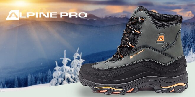 Pánska zimná treková obuv Alpine Pro  66c1f1517eb