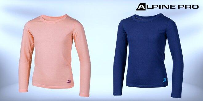 Detské tričká Alpine Pro