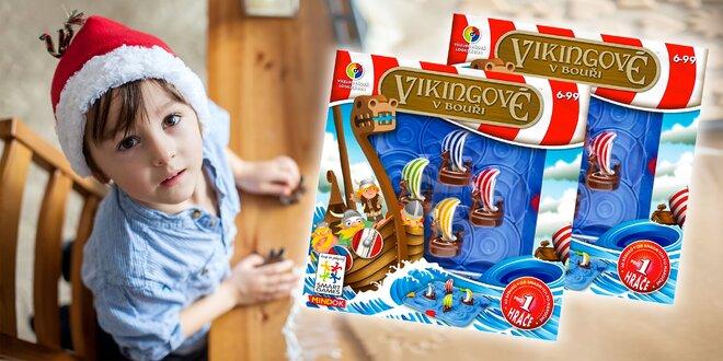 Spoločenská hra Vikingovia v búrke