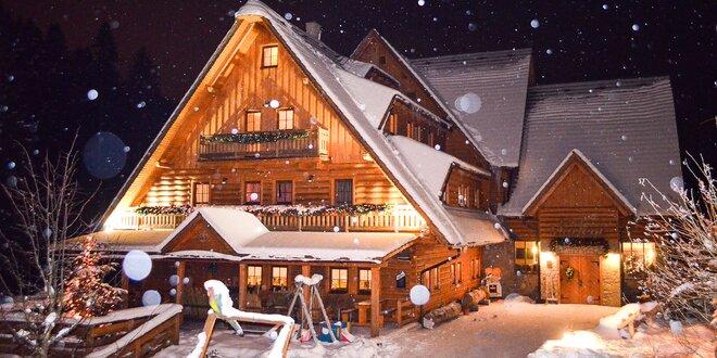 Rodinná lyžovačka na Kysuciach s wellnessom