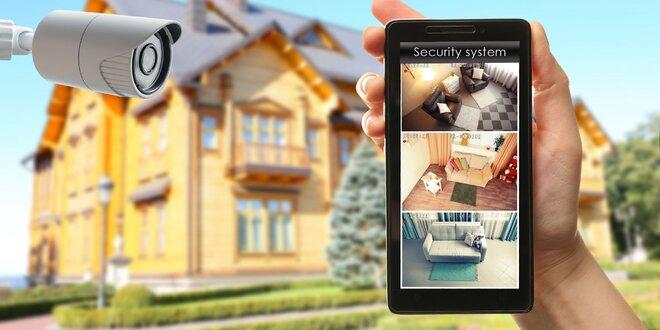 Kamerové systémy na domy. Ochráňte svoj dom najmodernejšími špičkovými kamerami!