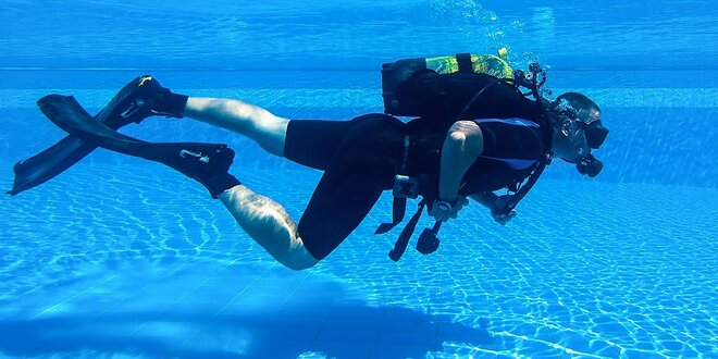 Potápanie s potápačským výstrojom - tip na darček!