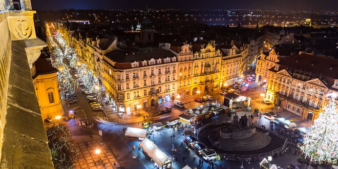 Pobyt v Prahe až na 4 dni s raňajkami, dieťa do 2 rokov zadarmo!