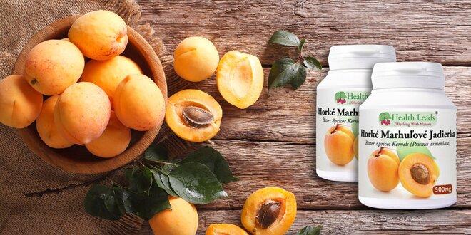 Horké marhuľové jadierka - 100% prírodný produkt bez prídavných látok