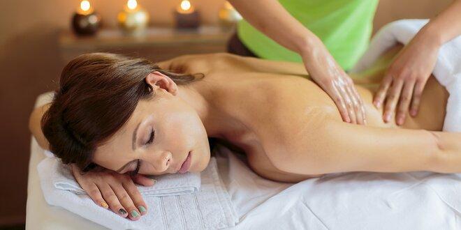 Klasická celotelová či anticelulitídna masáž od fyzioterapeutky