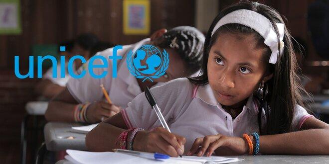 UNICEF školské pomôcky! Podporte vzdelávanie v rozvojových krajinách.