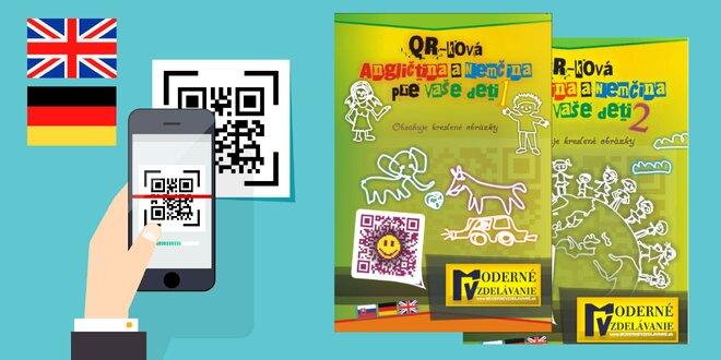 QR-ková angličtina a nemčina pre vaše deti