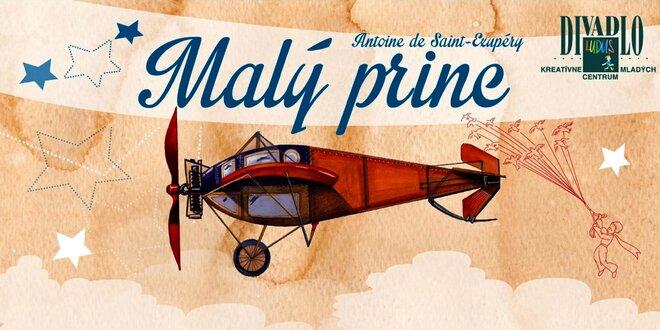 Rodinné predstavenie MALÝ PRINC, A. de Saint-Exupéry, v nedeľu 22. 1. 2017…