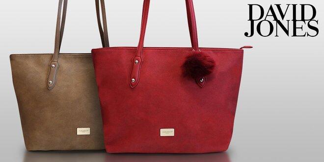 Elegantná dámska kabelka David Jones v štyroch farbách