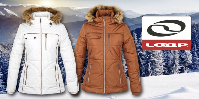 Dámska zimná bunda Loap s kožúškom