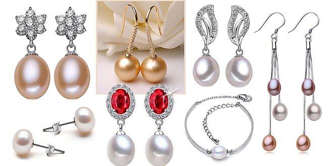 Pravé riečne perly a výber z ďalších krásnych šperkov
