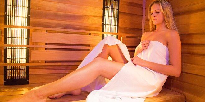 Vstup do sauny až na 2 hodiny