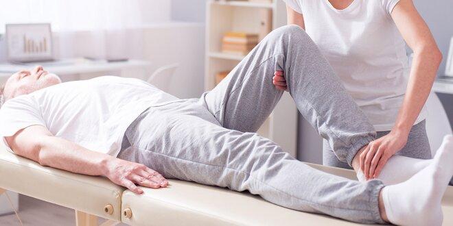 Fyzioterapia, bankovanie alebo reflexná masáž