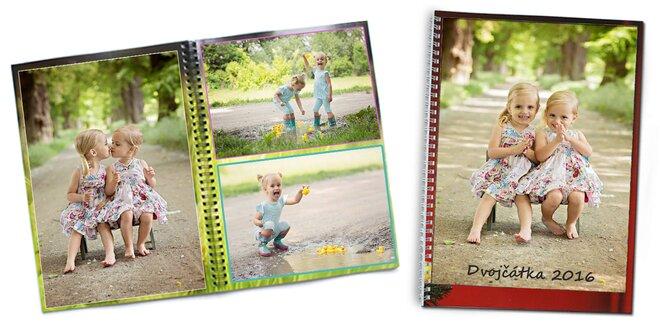 Fotokniha s krúžkovou väzbou - spomienky, ktoré sa nestratia
