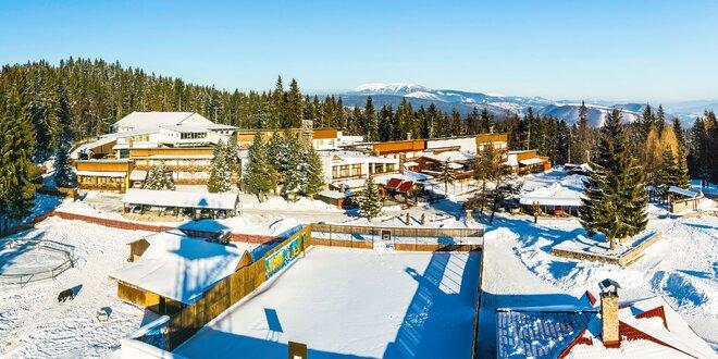 Wellness ski pobyt na 3 dni v Hoteli Šachtička*** v Nízkych Tatrách