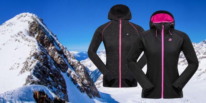 Dámske softshellové bundy a svetre Alpine Pro