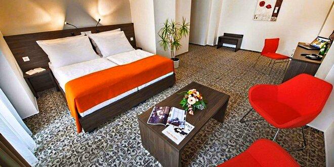 Víkendový pobyt v Jihlave pre dvoch: špičkový hotel, výlety i relax