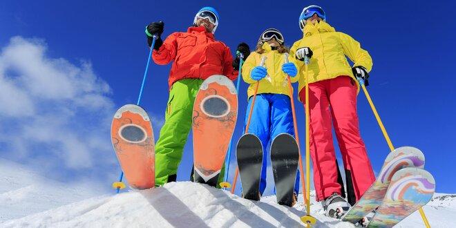 Celodenný alebo 4-hodinový skipas do poľského Grapa Ski
