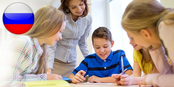 Lekcie ruského jazyka pre deti od 3 do 14 rokov