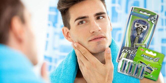 Pánske holiace strojčeky a náhradné hlavice PACE