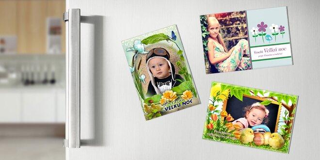 Magnetky z vlastnej fotografie